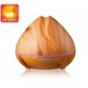 Máy khuếch tán tinh dầu quả đào màu gỗ sáng SC-22