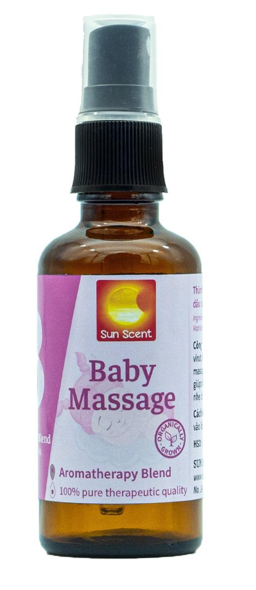 Dầu Baby Massage