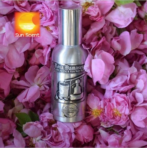 Nước hoa hồng Damask cao cấp  chai nhôm Erken Tarim 120ml và 250ml